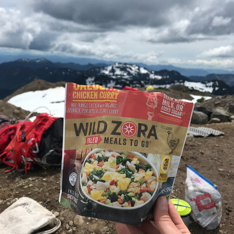 Wild Zora Meal in Wilderness