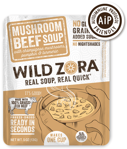 AIP Mushroom Beef Instant Soup