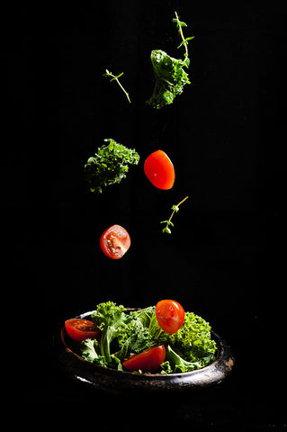 low glycemic index diet kale and tomatoes