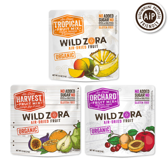 Fruits - Organic Air-Dried Mix Multipack