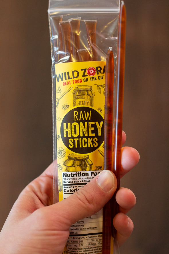 Raw Honey Sticks - 10-Pack