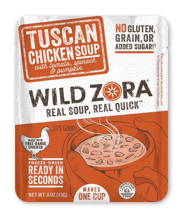 Soups - Tuscan Chicken with Tomato, Spinach, & Sweet Potato