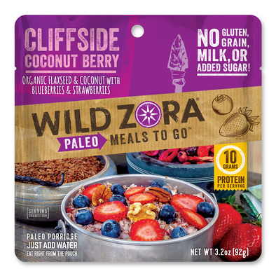 Flax Meals - Cliffside Coconut Berry