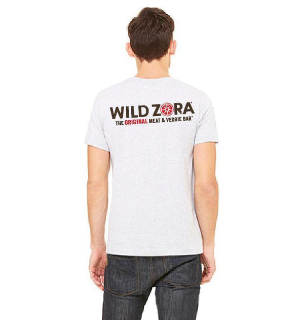 Wild Zora Men's Logo and Slogan T-Shirt