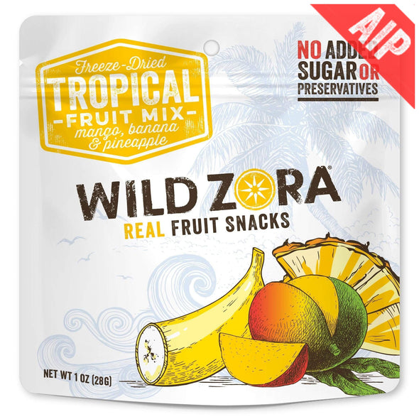 Real Fruit Snacks - Tropical Fruit Mix (Freeze-Dried)