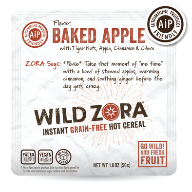 NEW! Instant Cereal - AIP Baked Apple with Tiger Nuts, Apple, Cinnamon & Clove