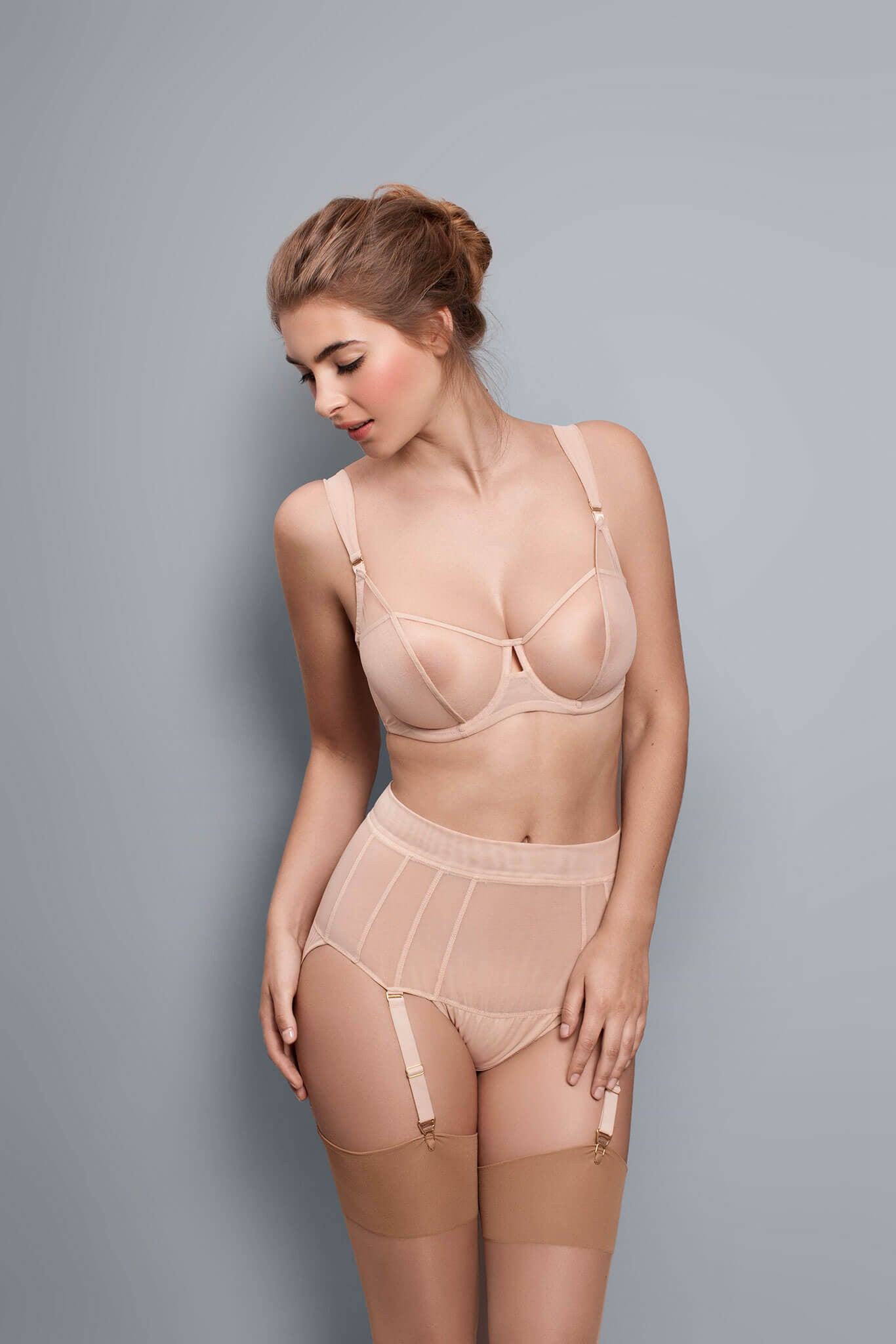 Fran - Toast - Short with Suspender