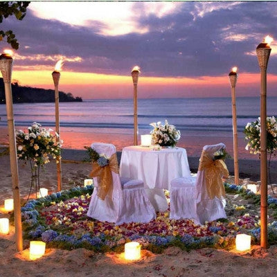 Romantic Dinner with BBQ Seafood Menu, Sightseeing in Bali