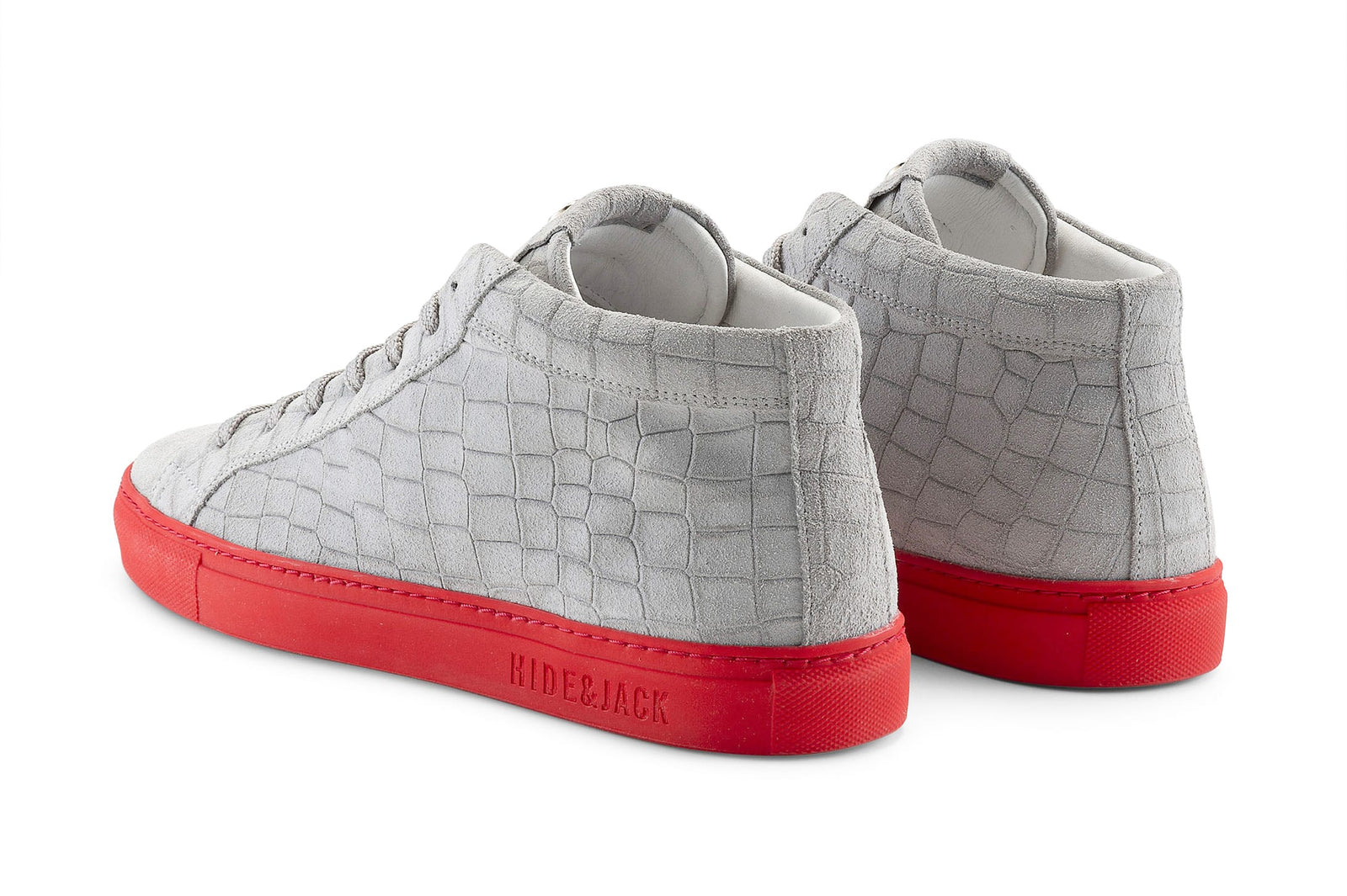 ESSENCE CROCO GREY RED
