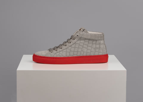 Essence High Top Grey Red