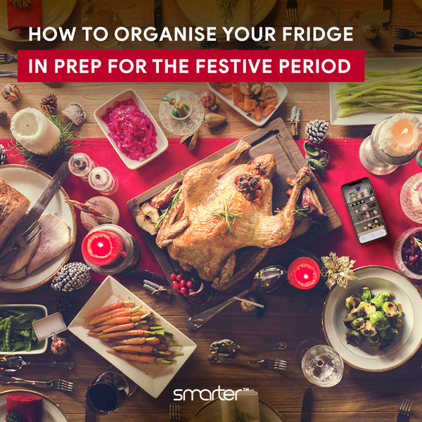 Organising your fridge in prep for the festive period