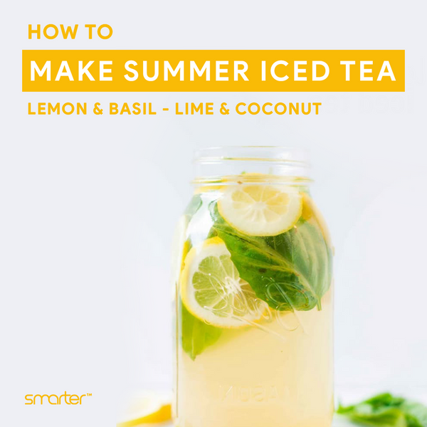 Effortless summer iced teas