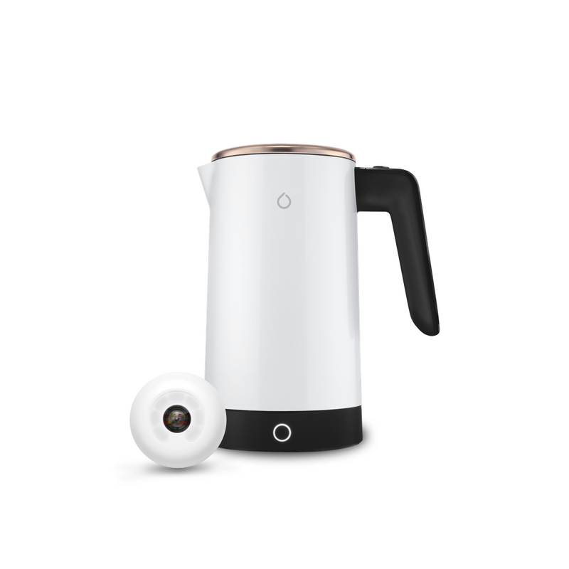 The Smarter Starter Kit with White and Gold Kettle