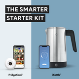 The Smarter Starter Kit with Stainless Steel Kettle