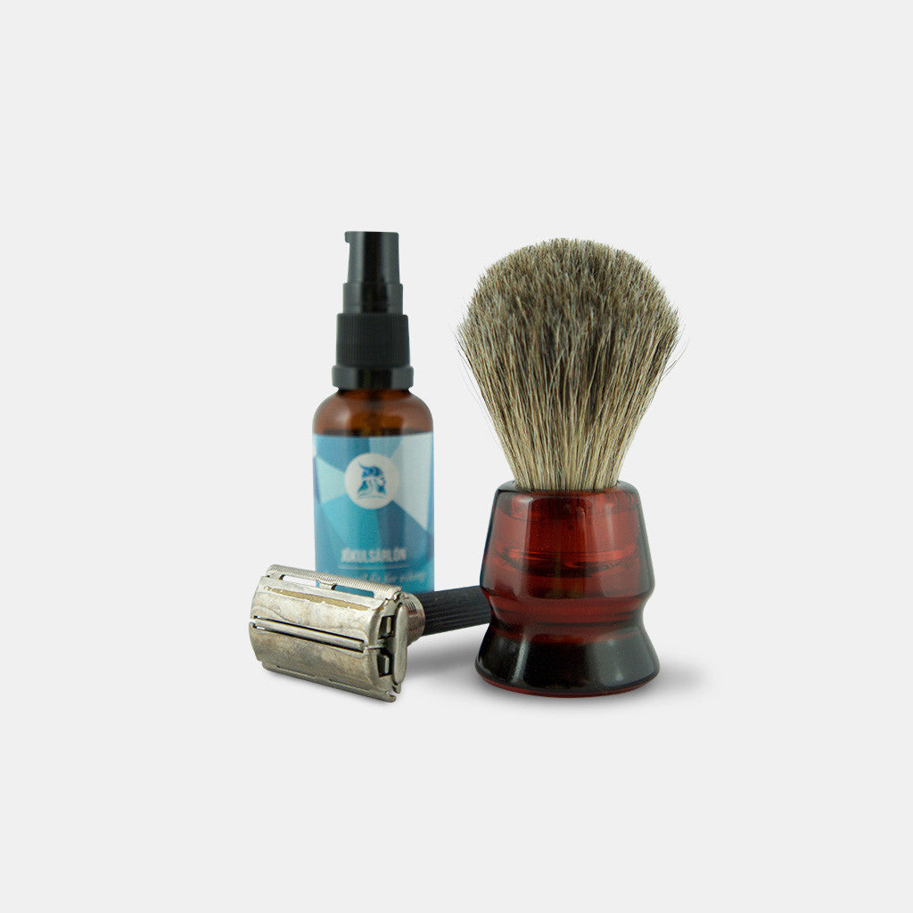 Shaving Brush, Badger Bristles (20 mm)