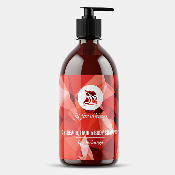 Bárðarbunga - 3in1 Beard, Hair & Body Shampoo