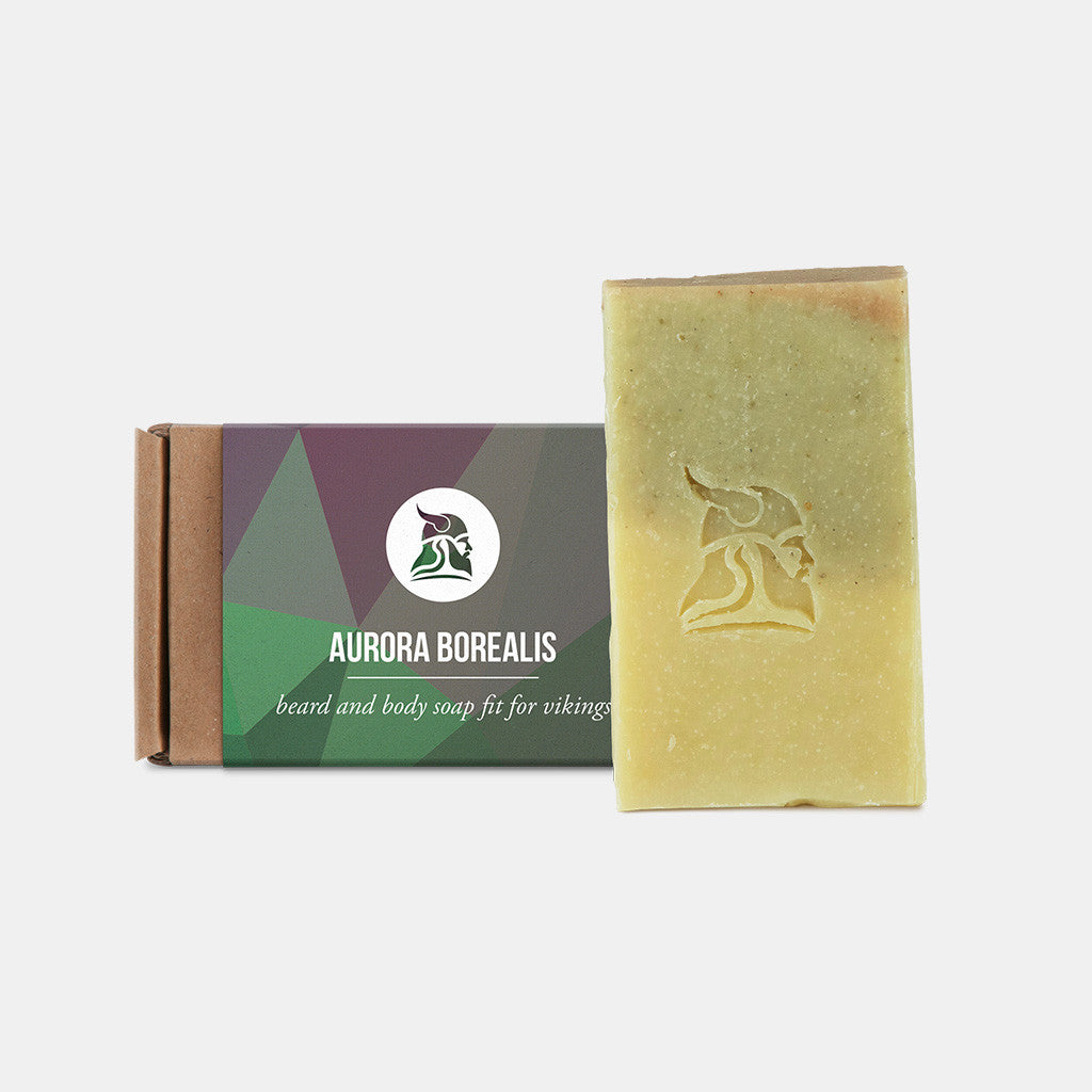 Aurora Borealis - Limited edition - Beard and Body Beer Soap - Fit for Vikings - 1
