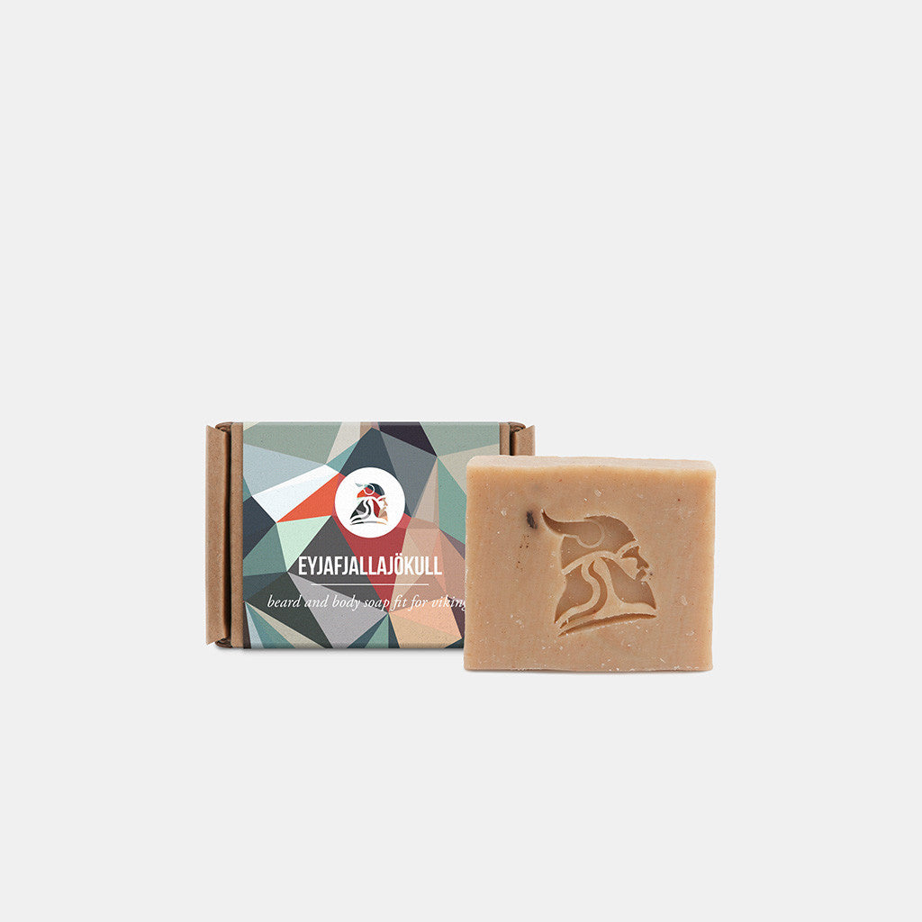 Eyjafjallajökull - Beard and Body Beer Soap - Fit for Vikings - 2