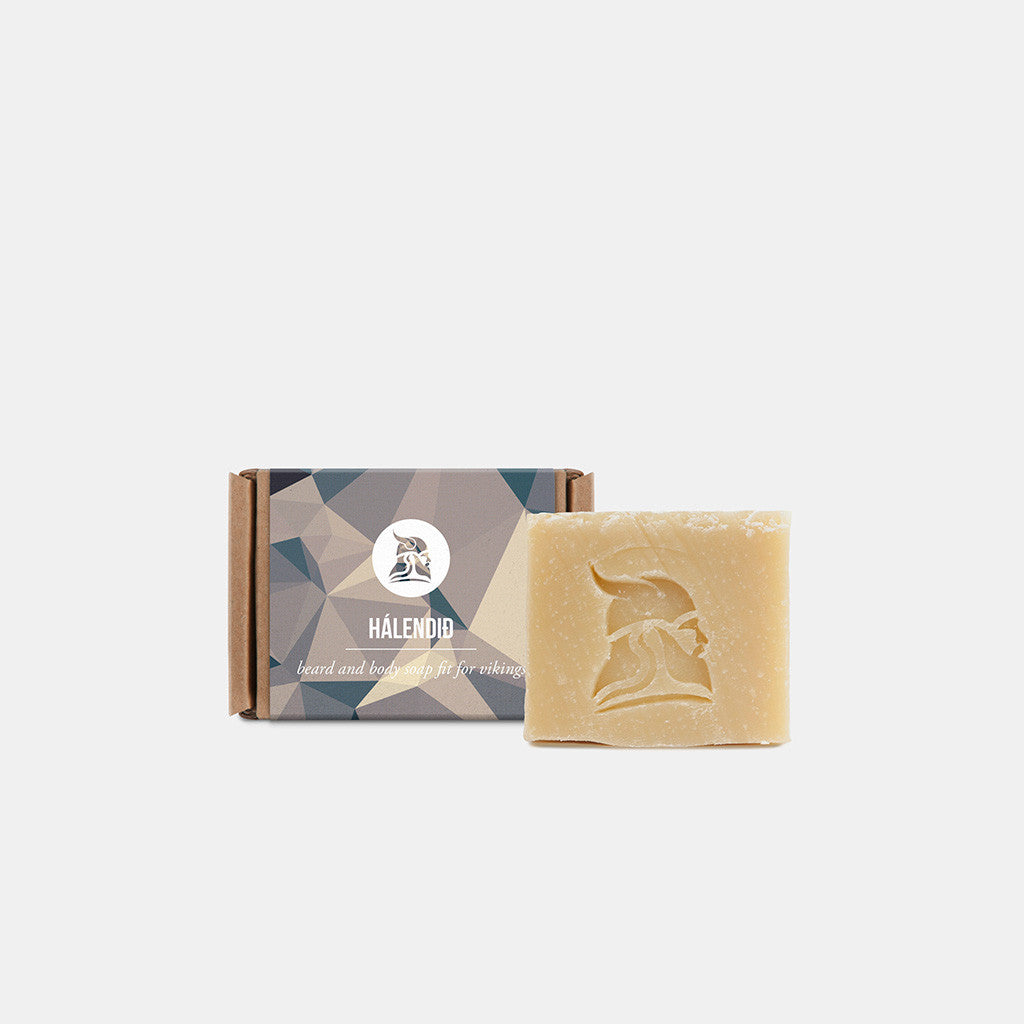 Hálendið - Beard and Body Beer Soap - Fit for Vikings - 2
