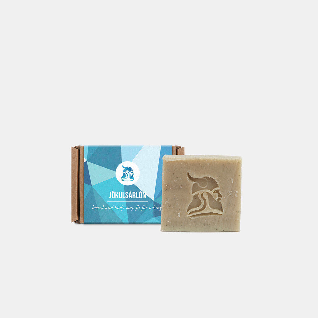 Jökulsárlón - Beard and Body Beer Soap - Fit for Vikings - 2