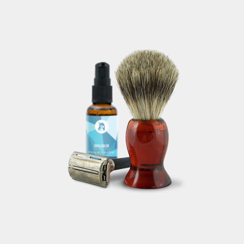 Shaving Brush, Badger Bristles (21 mm)