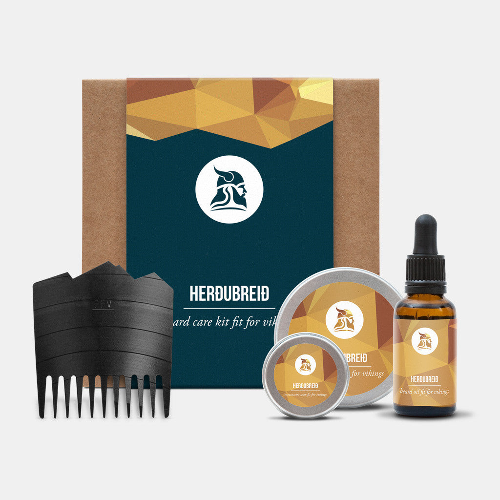 Herðubreið Beard Care Kit - Fit for Vikings - 3