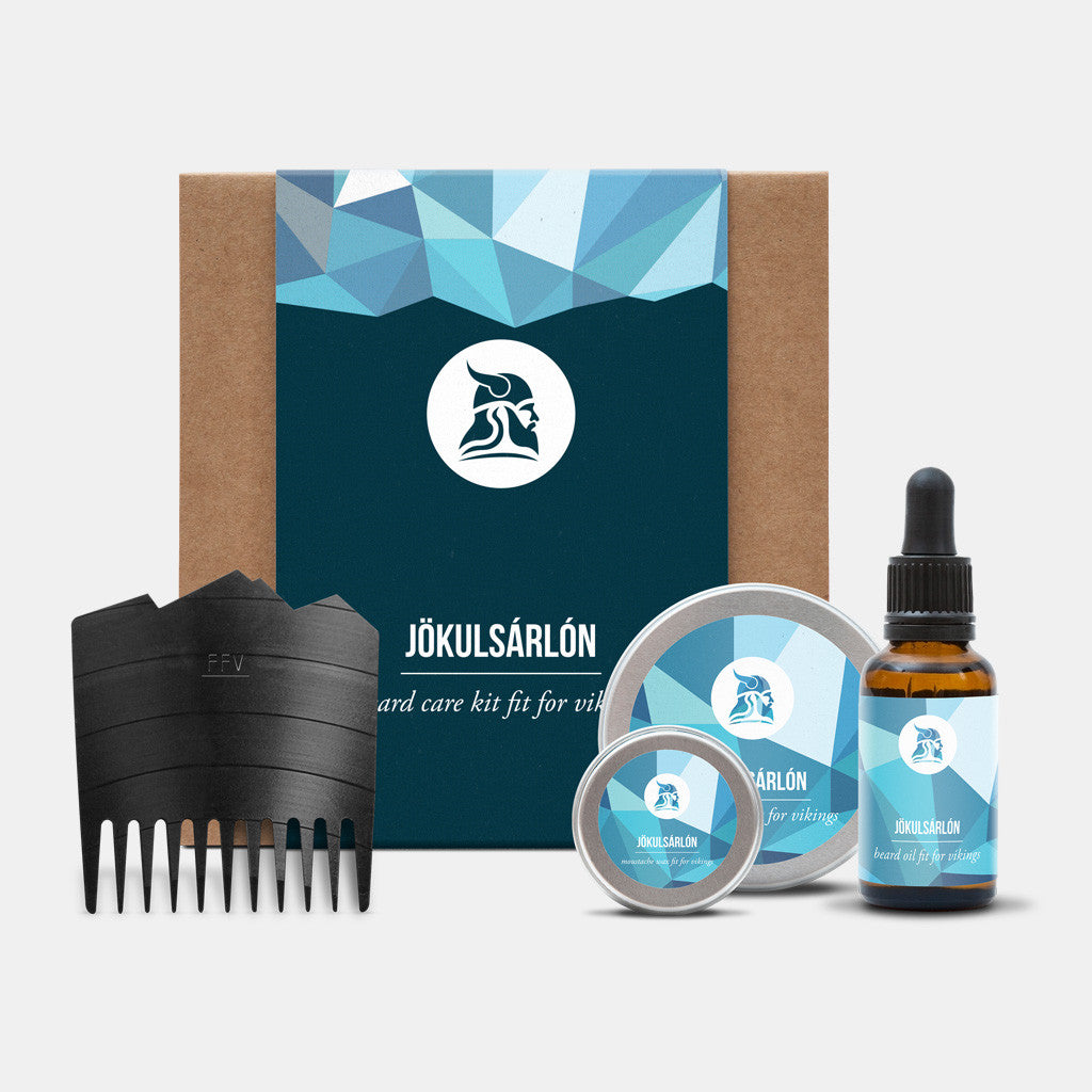 Jökulsárlón Beard Care Kit - Fit for Vikings - 3