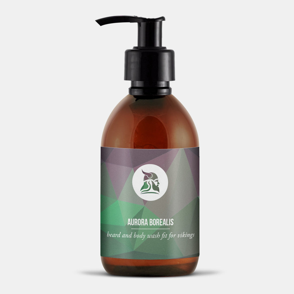Aurora Borealis - 3in1 Beard, Hair & Body Shampoo