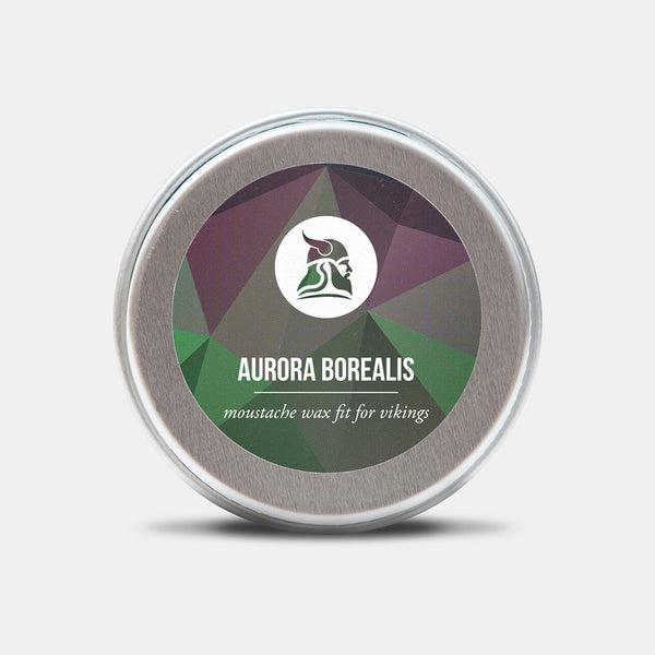 Aurora Borealis - Limited edition - Moustache Wax - Fit for Vikings