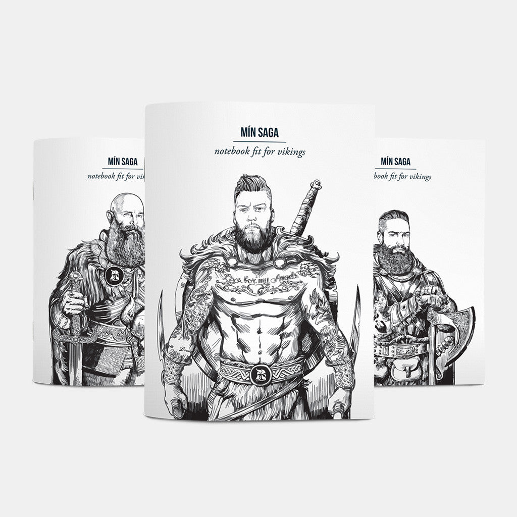 Notebooks fit for vikings - Fit for Vikings - 2