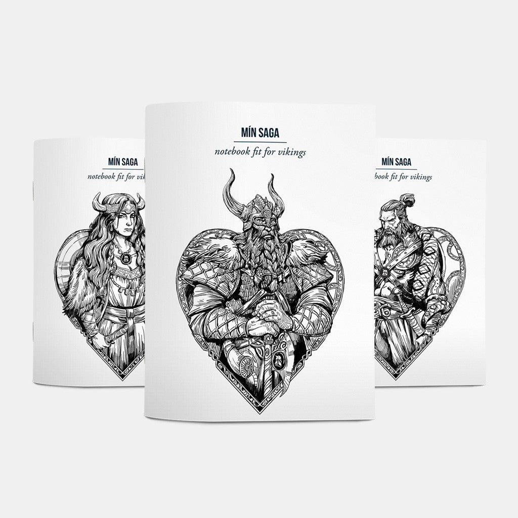 Notebooks fit for vikings - Fit for Vikings - 3