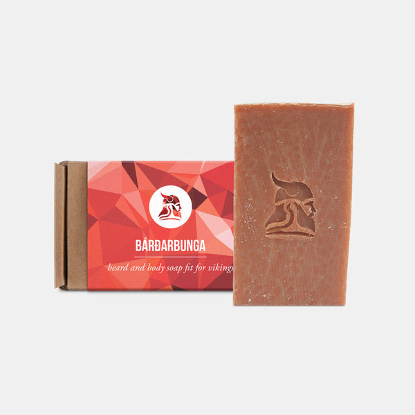 Bárðarbunga - Beard and Body Beer Soap - Fit for Vikings - 1