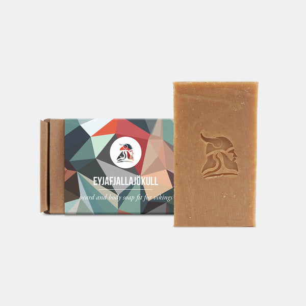 Eyjafjallajökull - Beard and Body Beer Soap - Fit for Vikings - 1