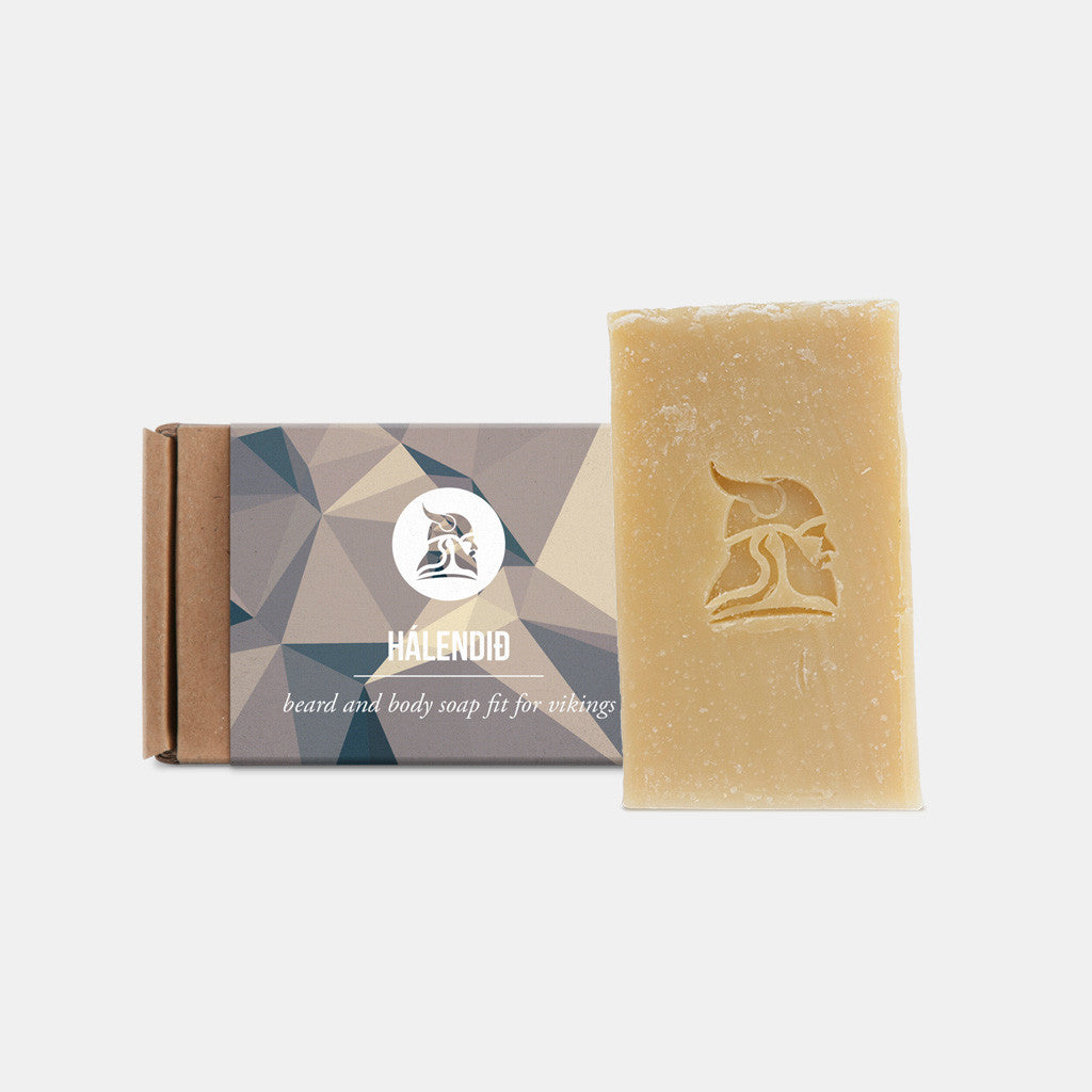 Hálendið - Beard and Body Beer Soap - Fit for Vikings - 1