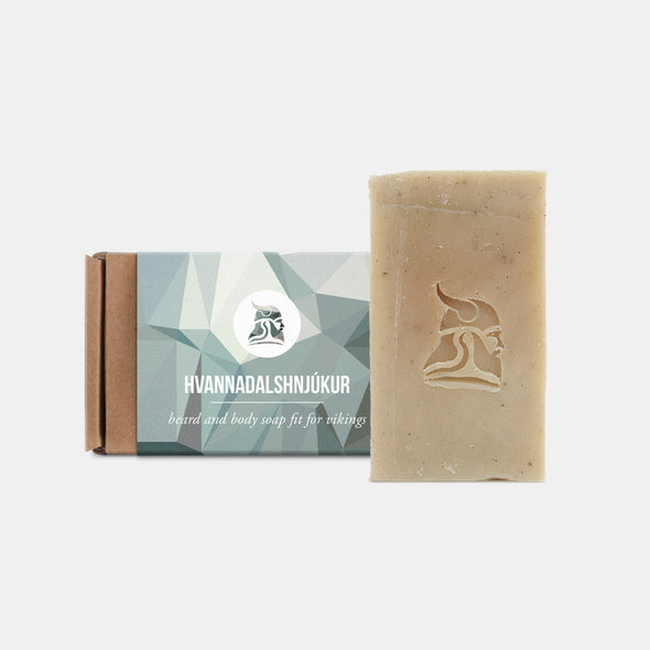 Hvannadalshnjúkur - Beard and Body Beer Soap - Fit for Vikings - 1