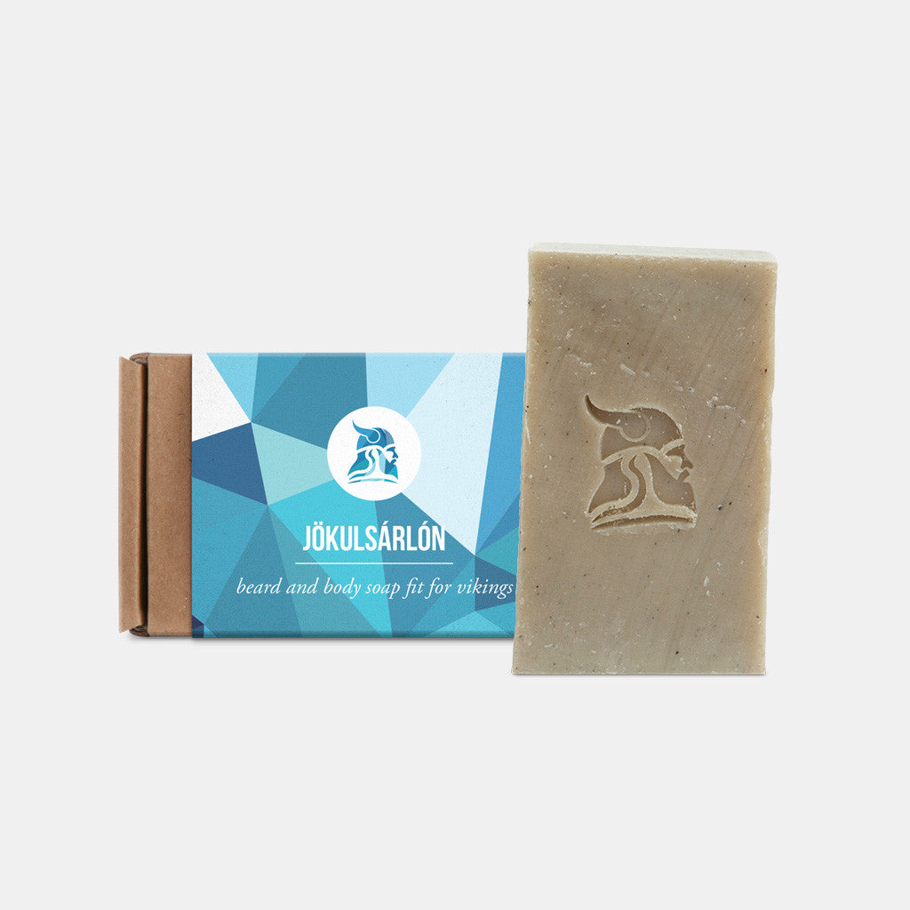Jökulsárlón - Beard and Body Beer Soap - Fit for Vikings - 1