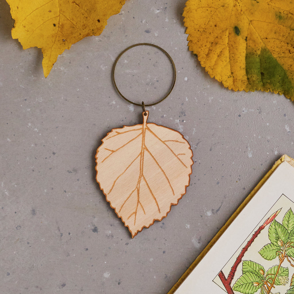 Beech Leaf Decoration