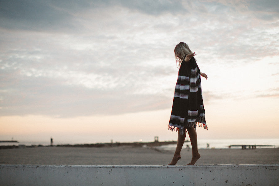 THE SAGUARO: MEXICAN BLANKET PONCHO