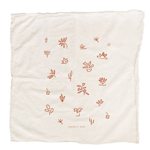 Abstract Nature Tea Towel