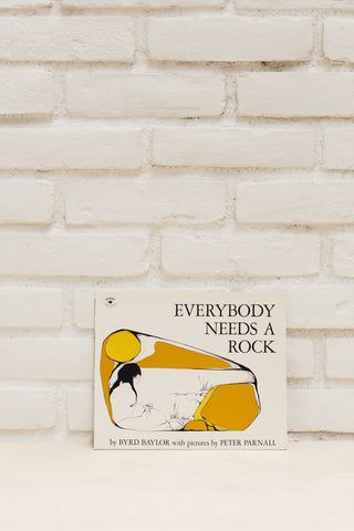 Vintage Book | Everybody Needs A Rock
