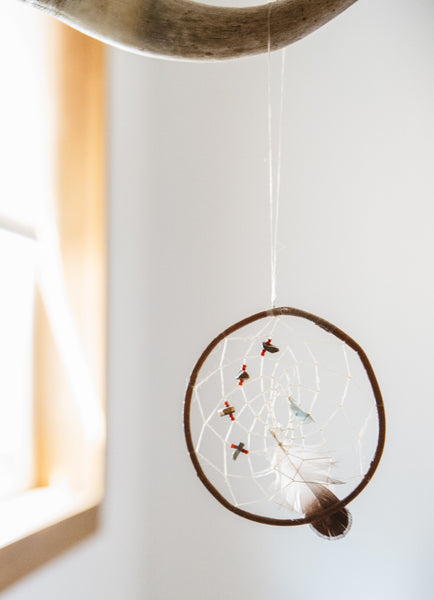 Authentic Red Willow Native American-Made Dreamcatchers