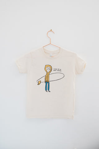 Going Gleaming Kids Surfer Tee