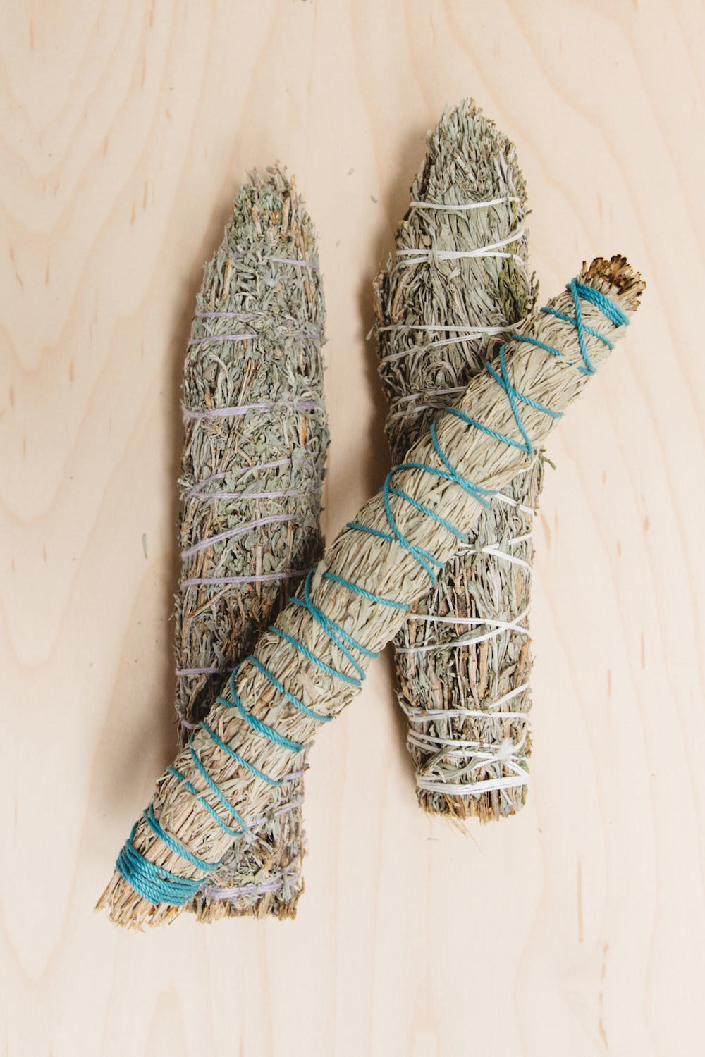 Native American Made Juniper Cedar & Desert Sage Smudge Sticks