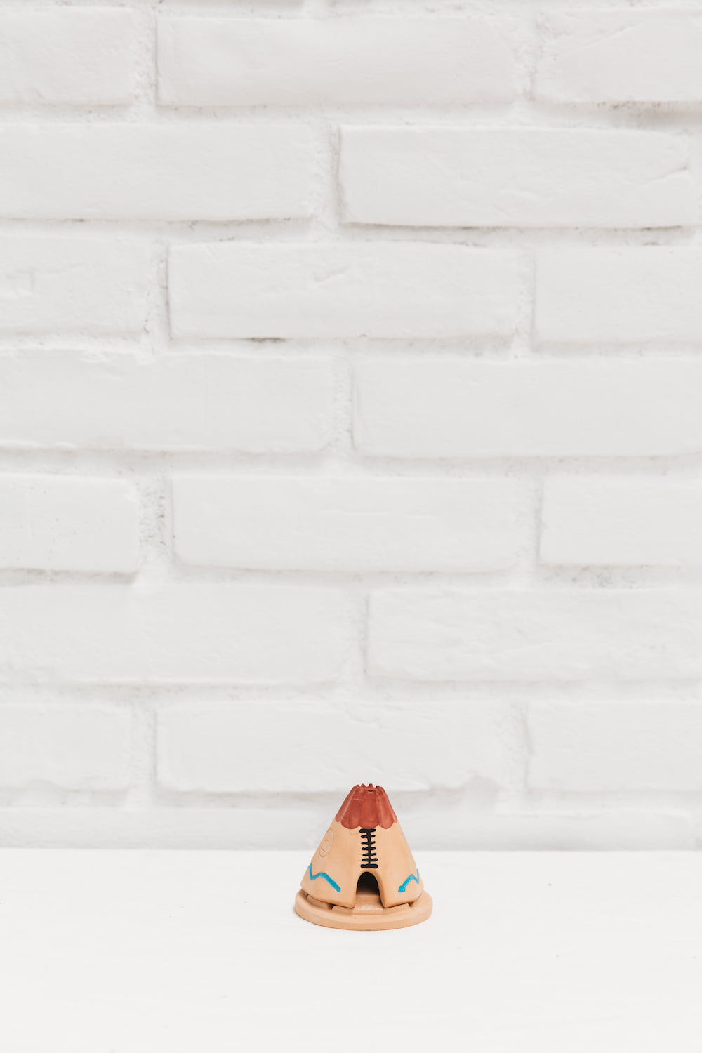 Teepee Incense Burner With Pinon Natural Wood Incense