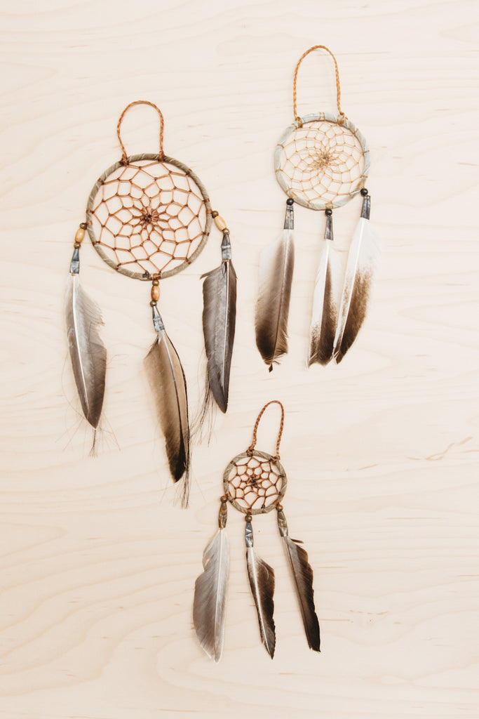 Authentic Navajo Native American-Made Dreamcatchers