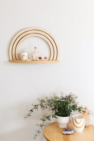 The Pixie Arc Shelf by RAEL MADE
