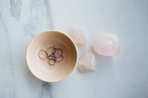 Blush Pink Ring or Smudge Dish