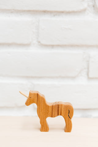 Wooden Unicorn | Natural Non-Toxic Toy