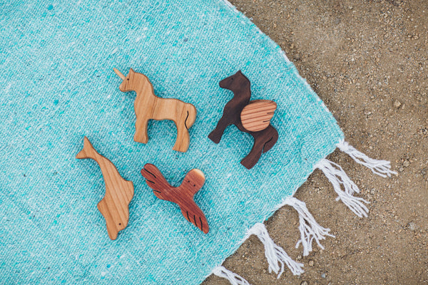 Wooden Dolphin | Natural Non-Toxic Toy
