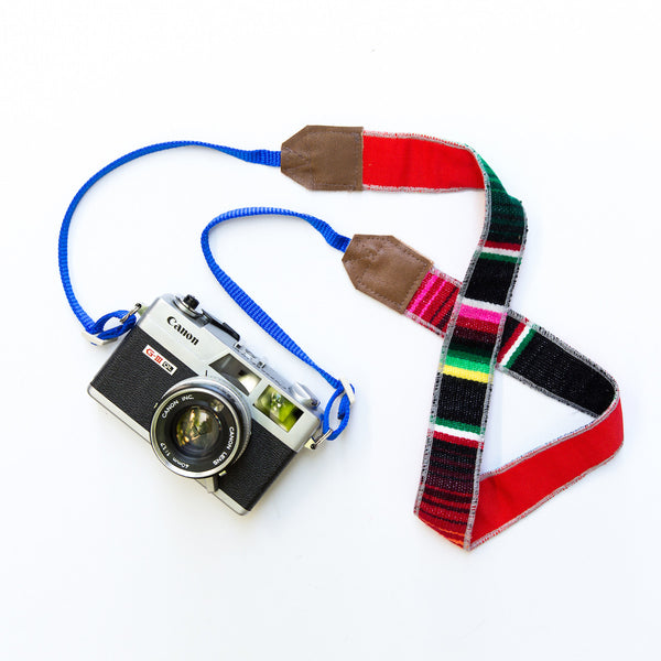 Viajero Camera Strap - Rojo | LBLAxTK + Gunn & Swain Collaboration
